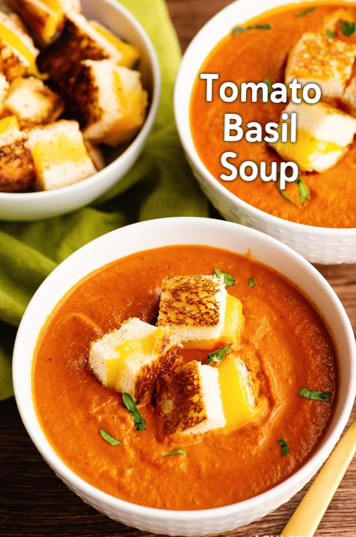 Marie's Basil and Tomato Soup