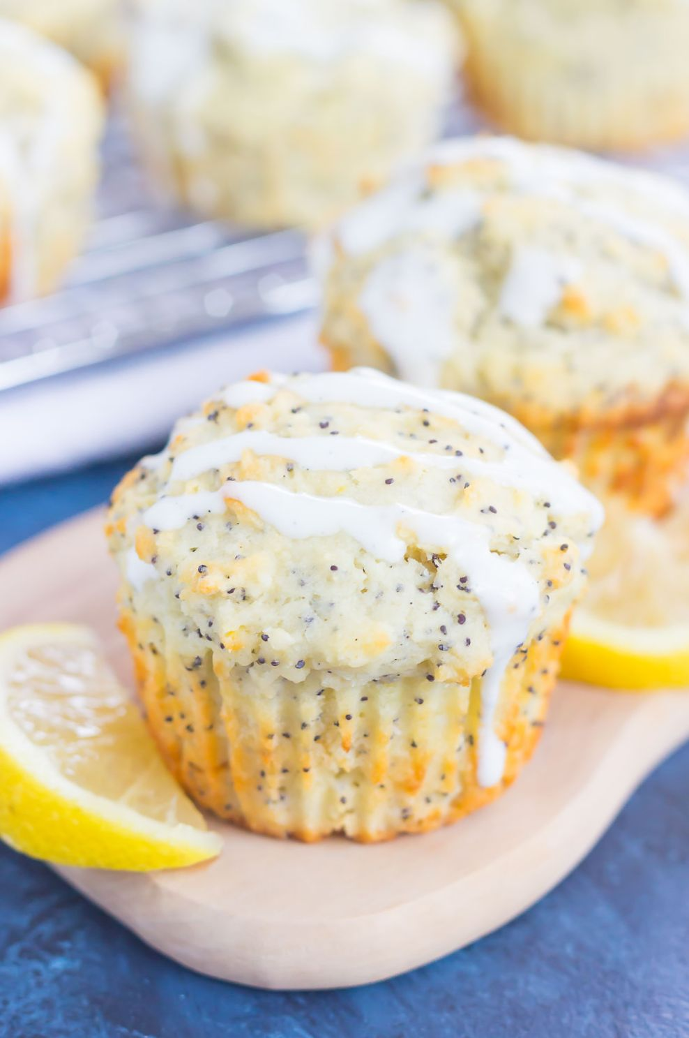 Lemon and Poppy Seed Muffins 2